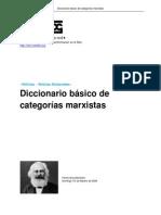 Marx - Diccionario Basico de Categorias