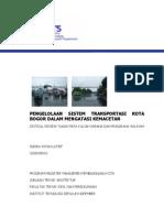 Pengelolan Sistem Transportasi Kota Bogor