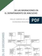 Aumento de Las Migraciones en El Departamento De