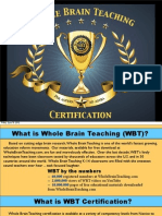 WBT Certification