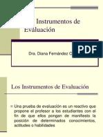 2- Los Instrumentos de Evaluacion