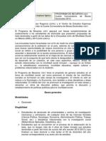 Cuarta Convocatoria de Becas Doctorales CEEY 2012