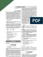 D.S. 012-2009-MINAM Politica Nacional Del Ambiente TEXTO