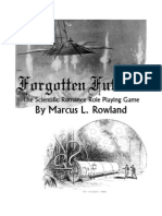 Forgotten Futures the Scientific Romance Role Playing Game