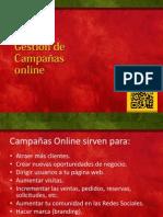 Gestión de Campañas online