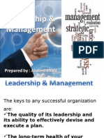Leadership and Management(Final)