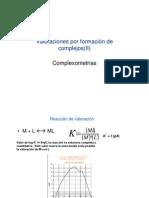 indicadores metalocromicos
