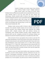 Analisis Paradigma Kebijakan Pelayanan Publik Pada Era Otonomi Daerah