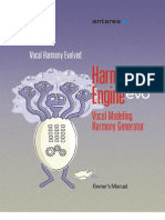 Harmony Engine Evo Manual