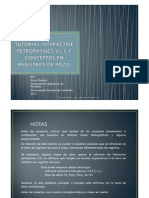 Tutorial IP 3.5 y Algunos Conceptos de Registros de Pozo