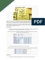 IVA una guía para el aumento en SAP