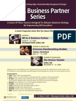 HR As A Business Partner Series