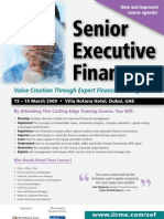 Senior Executive Finance