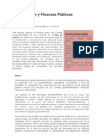 Devaluación y Finanzas Públicas