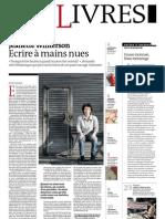 Supplément Le Monde des livres 2012.06.15