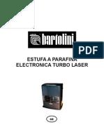 Estufa Bartolini Electrica Turbo Laser