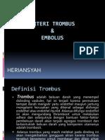 Trombus Dan Emboli