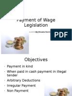 3 Payment of Wage Legislaionn 16