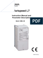 Yaskawa L7 Instruction Manual