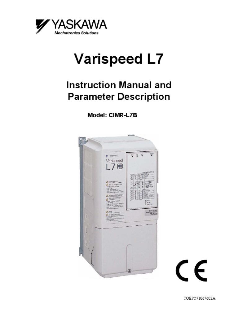 Yaskawa L7 Instruction Manual | Electromagnetic Compatibility