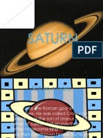 Science - Presentation About Saturn