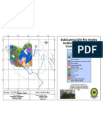 Mapa Coberturas Corine Land Cover  - Subcuenca del Rio Andes (Facatativá - Cundinamarca)