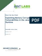 Bh Ad 11 Drake Exploiting Java Memory Corruption WP
