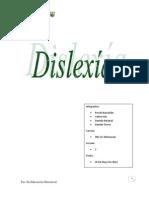 Trabajo Escrito Dislexia