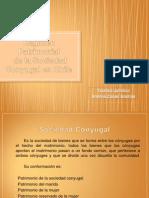 Régimen Patrimonial de la Sociedad Conyugal en Chile SD
