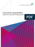 Consumer Guarantees Guide