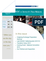 AIESEC UUM Newsletter 2012 Volume 3 Issue 9