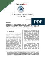 El Derecho Constitucional Economico.