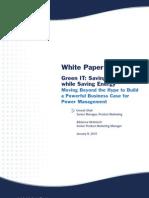 Green IT White Paper