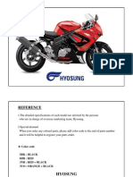 GT650R EFI Parts Catalogue