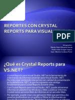 Actividad 1.2 Reportes con Crystal Report