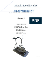 Projet Pluritechnique Encadré - Vélo d'appartement - Lycée Astier 2011/2012 - Dossier Final