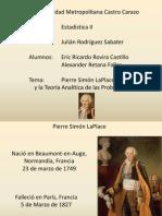 Pierre Simón LaPlace