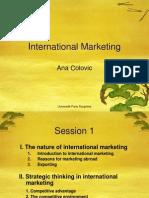 Marketing International Session 1