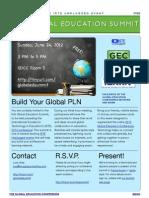 2012 Global Education Summit at ISTE