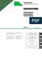 DR200 Parts List
