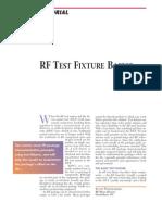[MWJ0306] RF Test Fixture Basics
