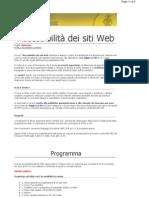 Accessibilita_ regole siti Web