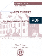 Chaos Theory-The Essentials for Military Applications