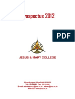 Prospectus 2012