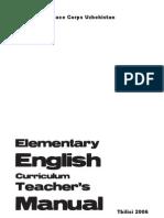 3 Elementary English Curriculum Teacher Manual - Page 3 Copy