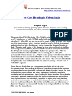 Low Cost Housing in Urban India