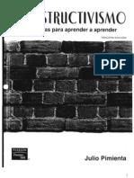 Constructivismo Estrategias Para Aprender a Aprender (Julio Pimienta)