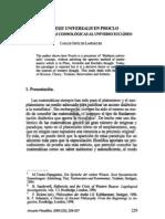 4. MATHESIS UNIVERSALIS EN PROCLO DE LAS APORÍAS COSMOLÓGICAS AL UNIVERSO EUCLÍDEO, CARLOS ORTIZ DE LANDÁZURI
