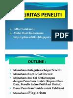Integritas Peneliti - Ok
