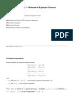 Algebra P Cap 3 - Sistemas de Equacoes
